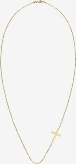 ELLI Halskette 'Kreuz' in gold: Frontalansicht