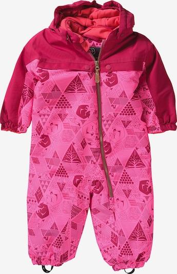 COLOR KIDS Schneeanzug 'Dolpha' in rosa / dunkelpink, Produktansicht