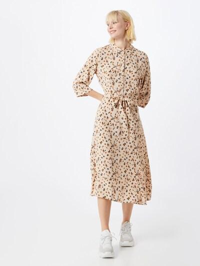 OBJECT Košeľové šaty 'OBJNELLE' - béžová: Pohľad spredu