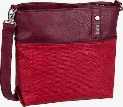 ZWEI Sac à bandoulière ' Jana J8 ' en rouge / rouge foncé, Vue avec produit