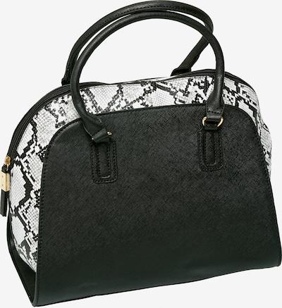 Emma & Kelly Handtasche in schwarz / weiß, Produktansicht