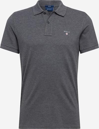 GANT Shirt in de kleur Antraciet: Vooraanzicht