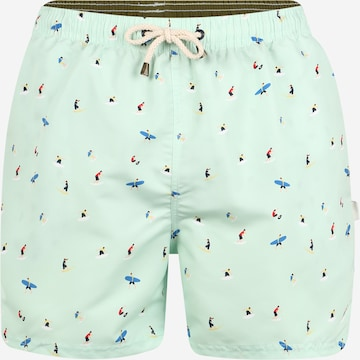 TOM TAILOR Swimming shorts 'Leo' in Green