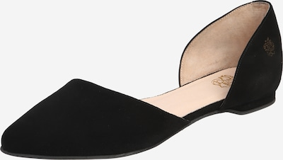 Apple of Eden Slipper 'BLONDIE' in schwarz, Produktansicht