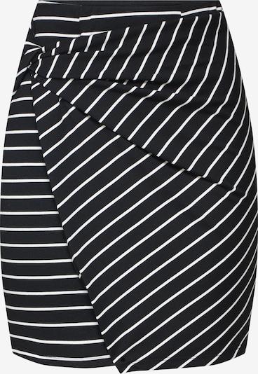 Hailys Jupe 'SH P ST Amie' en noir / blanc: Vue de face