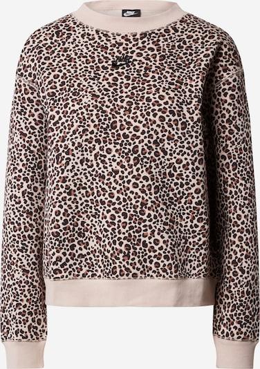 Nike Sportswear Shirt in beige / schwarz, Produktansicht