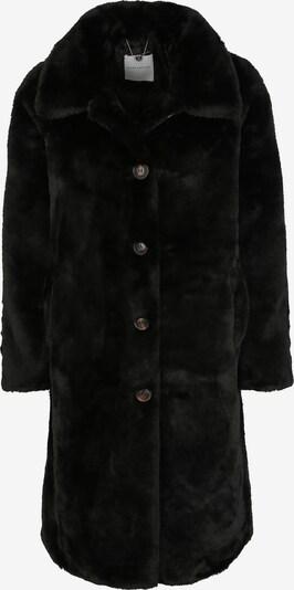 RINO & PELLE Fake-Fur-Mantel 'ZONNA' in schwarz, Produktansicht