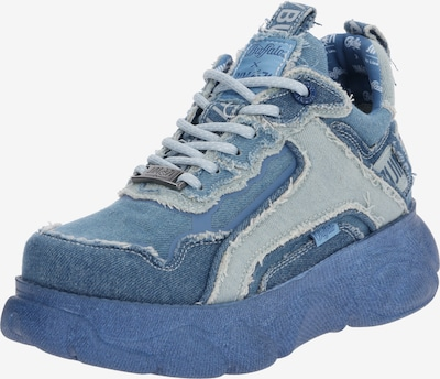 BUFFALO Sneaker 'BUFFALO x J1MO71 by Lisa & Lena - Denim Style' in blue denim, Produktansicht
