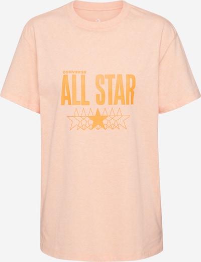 CONVERSE Shirt in pfirsich, Produktansicht