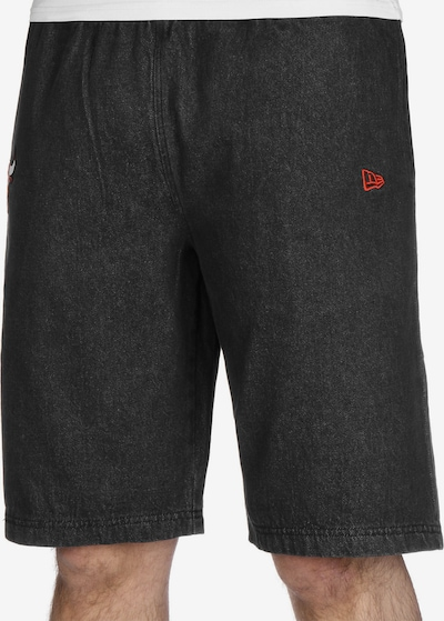 NEW ERA Shorts 'NBA Chicago Bulls' in schwarz, Modelansicht