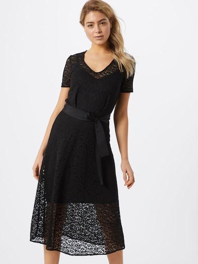 rosemunde Kleid in schwarz: Frontalansicht