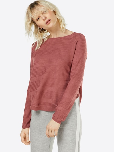 ONLY Pullover 'CAVIAR' in pastellrot, Modelansicht