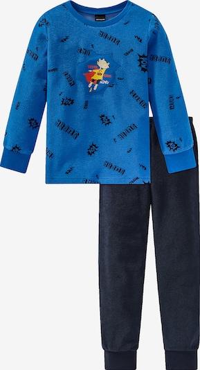 SCHIESSER Schlafanzug in blau / marine, Produktansicht