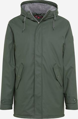 Derbe Vinterjakke 'Trek Cozy RC' i grønn
