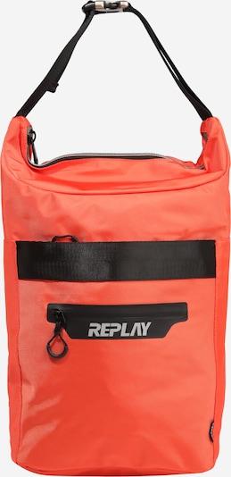 REPLAY Plecak w kolorze pomarańczowy / czarnym, Podgląd produktu