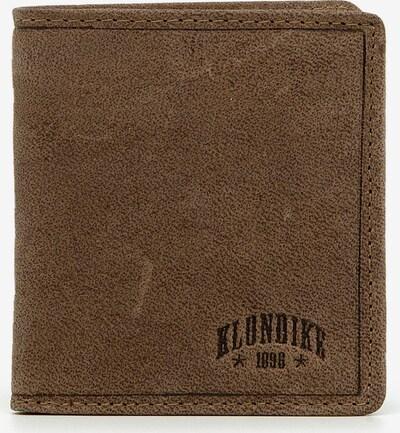 KLONDIKE 1896 Geldbörse 'Jamie' in braun, Produktansicht
