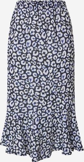 Boohoo Sukně - tmavě modrá / bílá, Produkt