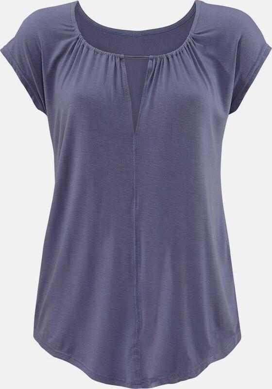 LASCANA T-Shirt mit besonderem Ausschnitt