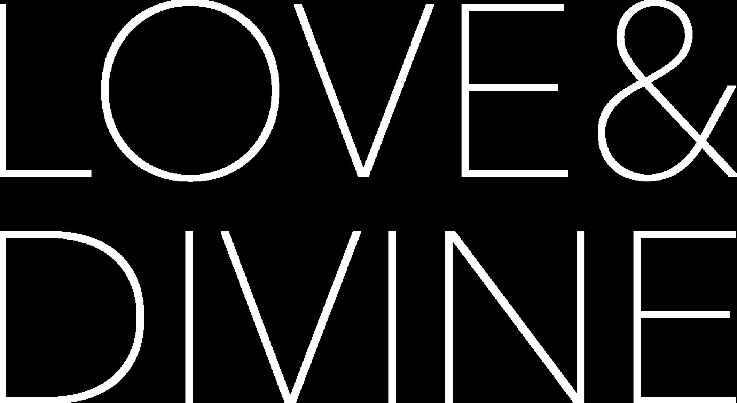 Love & Divine Logo