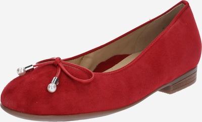 ARA Ballerina 'Sardinia' in rot, Produktansicht