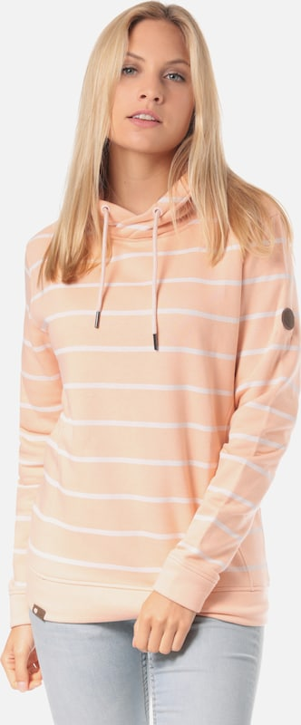 Lakeville Mountain Sweatshirt 'Mara Striped' in de kleur Rosa, Productweergave