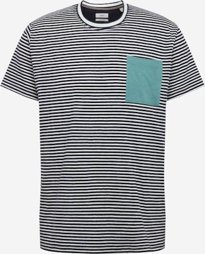 ESPRIT Shirt in de kleur Navy / Turquoise / Wit, Productweergave