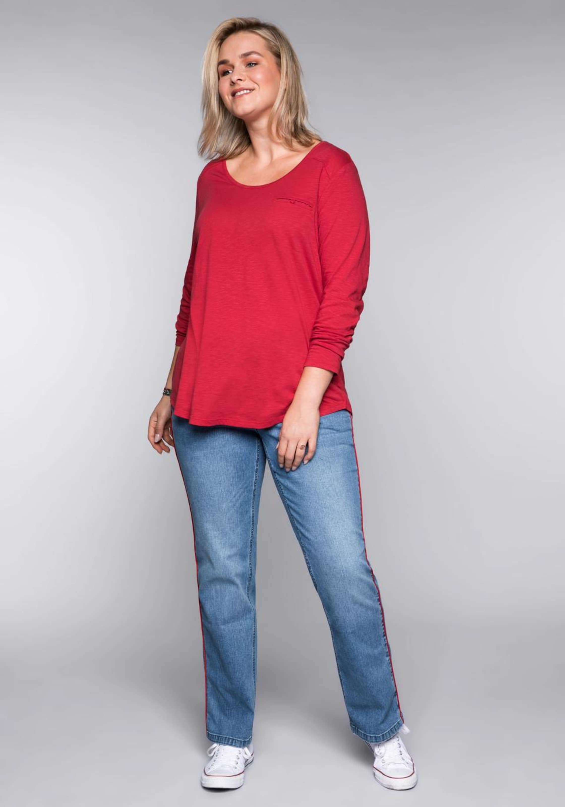 Sheego Cranberry Sheego Shirt Sheego Cranberry Shirt In Shirt In E9IDH2