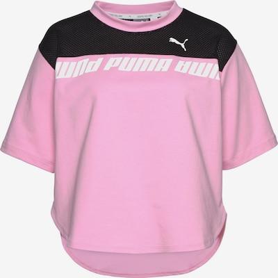 PUMA Shirt in rosa / schwarz / weiß, Produktansicht