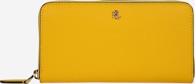 Lauren Ralph Lauren Denarnica 'SUPER SMOOTH LEATHR-ZIP CONT WLT-WLT-LRG' | rjava / rumena barva, Prikaz izdelka