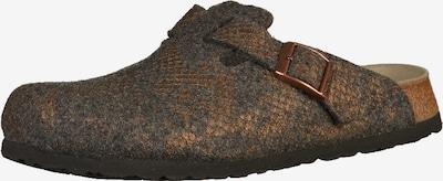 PAPILLIO Clogs 'Boston' in bronze / grau, Produktansicht