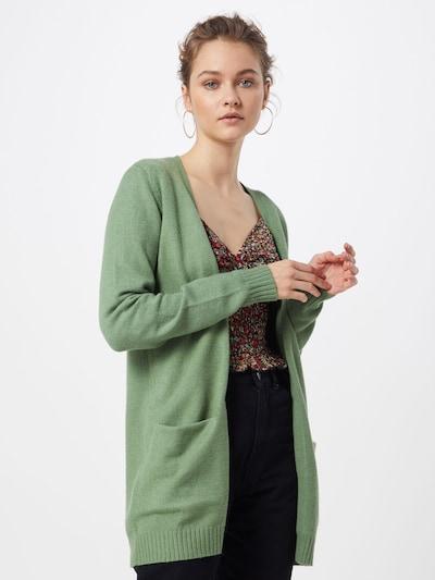 VILA Cardigan 'Ril' in grün, Modelansicht