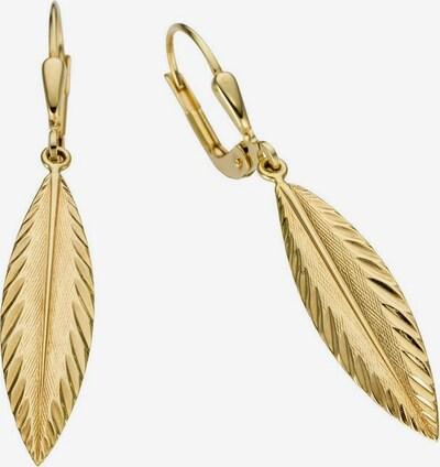 FIRETTI Ohrhänger in gold, Produktansicht