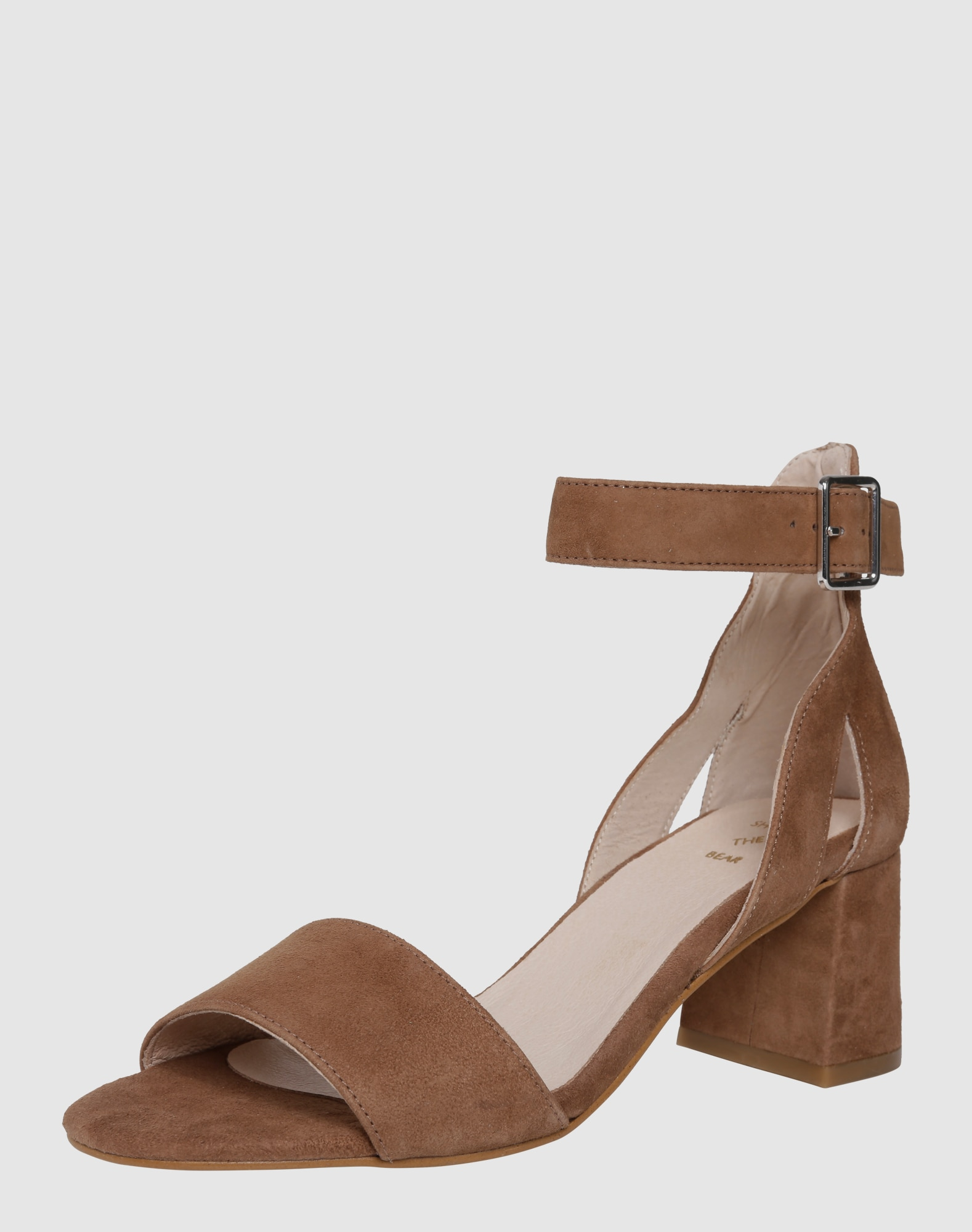 shoe the bear sandalen mit blockabsatz 39 may s 39 in braun. Black Bedroom Furniture Sets. Home Design Ideas