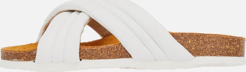 Bianco | Überkreuzriemen Sandalen