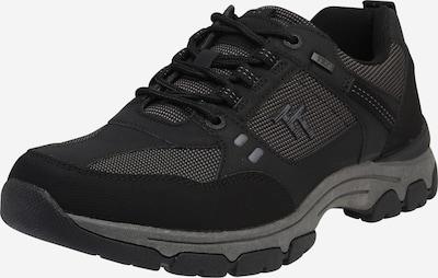 TOM TAILOR Sneaker in anthrazit / schwarz, Produktansicht