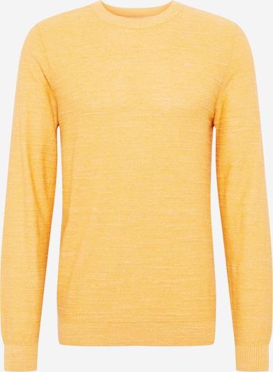 SELECTED HOMME Pullover in gelbmeliert, Produktansicht