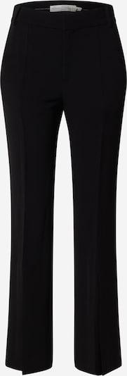 InWear Pantalon à plis 'ZaynaIW' en noir: Vue de face