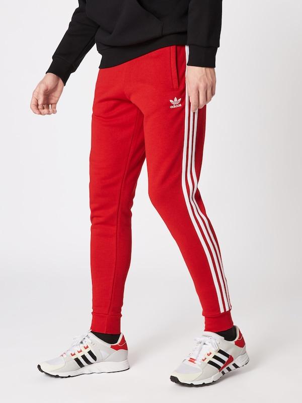 Pantalon En Adidas Originals '3 stripes' RougeBlanc FKc35l1JuT