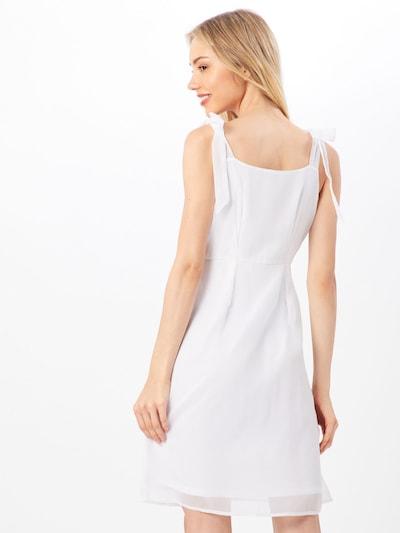 ABOUT YOU Robe 'Arabella' en blanc: Vue de dos