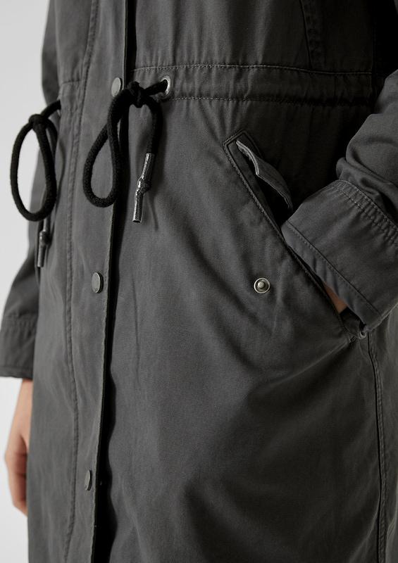 Q S designed by Parka in in in schwarz  Mode neue Kleidung aa0abc