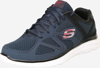 SKECHERS Sneaker in navy / grau / rot / schwarz, Produktansicht