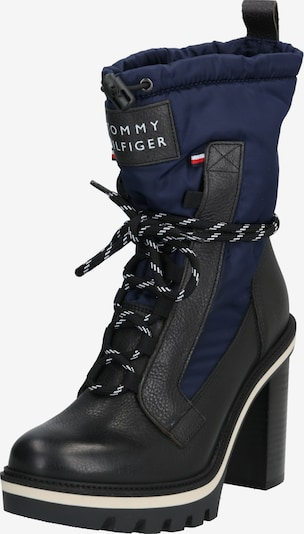 TOMMY HILFIGER Stiefel 'FUN OUTDOOR NYLON BOOTIE' in navy / schwarz, Produktansicht