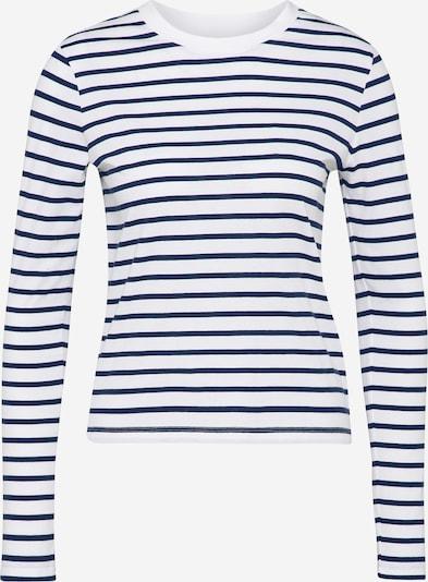 EDITED Langarmshirt 'Pixie' in navy / weiß, Produktansicht