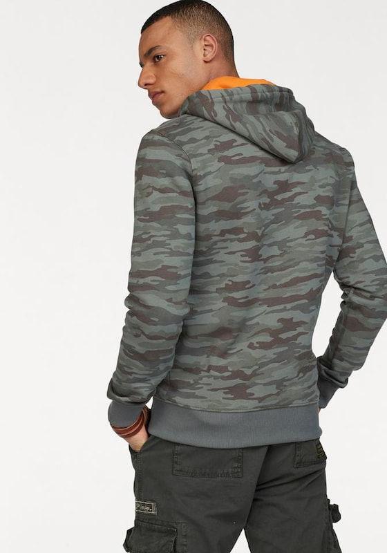 ALPHA INDUSTRIES Hoody 'FOAM PRINT'