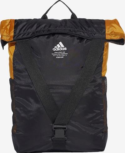 ADIDAS PERFORMANCE Sporttas 'Classic Flap Top Shopper' in de kleur Sinaasappel / Zwart, Productweergave