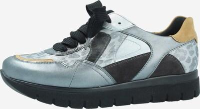 SEMLER Schnürschuhe in grau / grünmeliert, Produktansicht