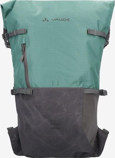 VAUDE Sportrugzak 'CityGo' in de kleur Donkergrijs / Jade groen, Productweergave
