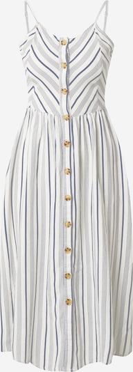 Sublevel Sukienka koszulowa w kolorze granatowy / białym: Widok z przodu