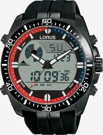 LORUS Uhr 'R2B05AX9' in Schwarz