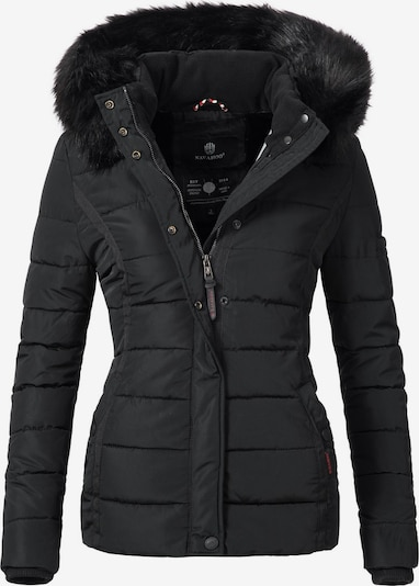 NAVAHOO Winterjacke 'Miamor' in schwarz, Produktansicht